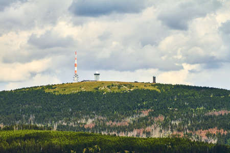 brocken: The Brocken is the highest mountain in the Harz mountains and in the north of Germany.