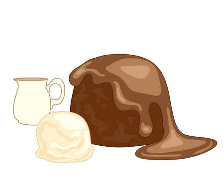 vanilla pudding: