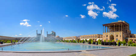 isfahan: Imam Square in Isfahan Editorial