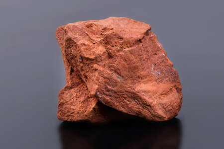 mineral dolomite, belongs to sedimentary breeds. Arises in the course of drying of lakes Stock Photo