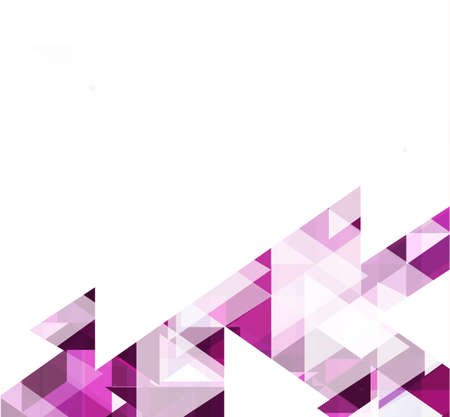 bstract: Modern purple geometrical abstract template and space for your text, Vector illustration
