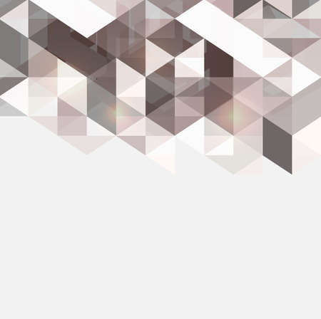 Modern geometrical abstract vector template, Vector illustration Фото со стока - 27198808
