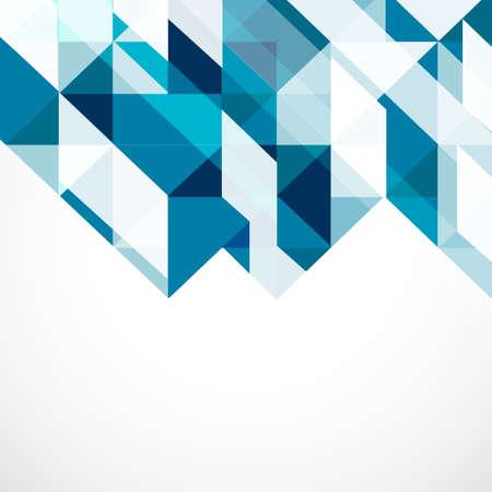 Modern geometrical abstract template, Vector illustration  Illustration