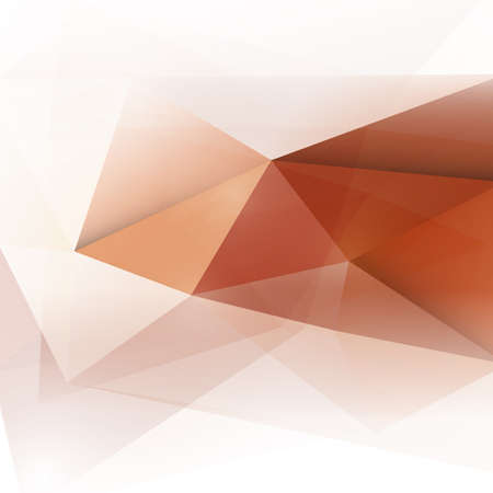 abstract polygon background in red tone, vector illustration
