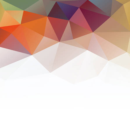 graphic backgrounds: colorful triangular pattern background, vector illustration Illustration
