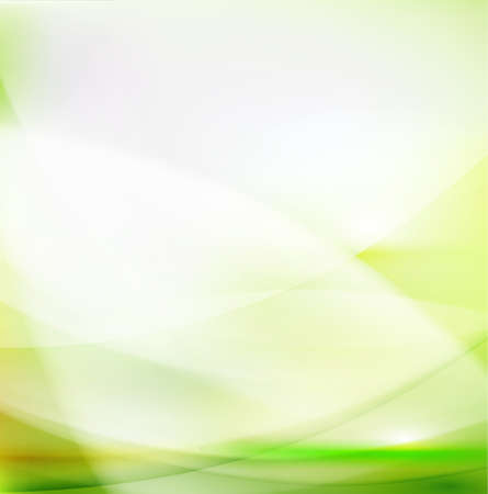 Abstract smooth green flow background Иллюстрация