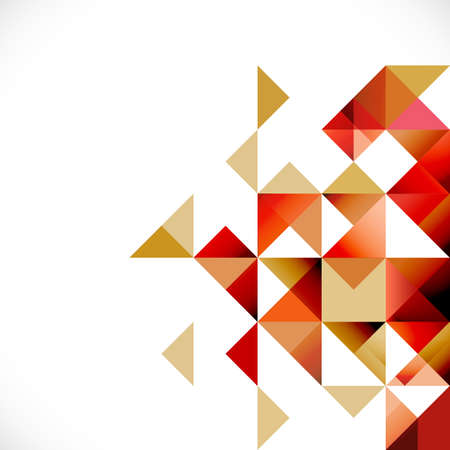 Abstract geometric modern background for Business or tech presentation, vector illustration Фото со стока - 39891435