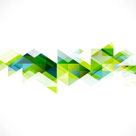 ビジネスや技術のプレゼンテーション ベクトル図の抽象的な三角形モダンなテンプレート
