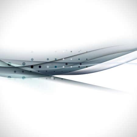 fondo elegante: abstracto elegante curva oscura de fondo ilustración vectorial