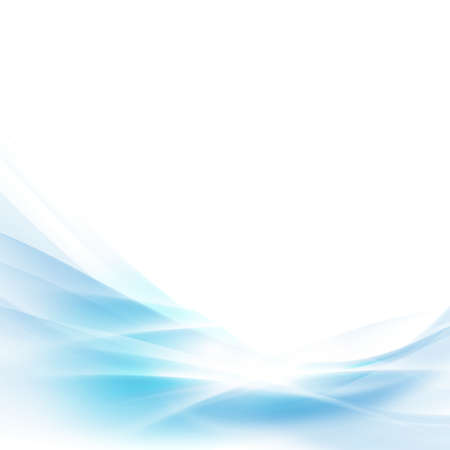 abstract spread blue wave background vector illustration
