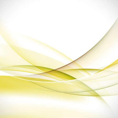 elegant background: abstract elegant green wave background vector illustration