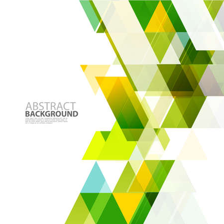 Modern geometrical abstract template for business or technology presentation, Vector illustration