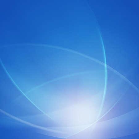 abstrait bleu lisse lumière de torsion lignes vagues fond, vecteur, Illustration