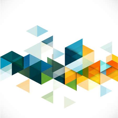 비즈니스 또는 기술 프리젠 테이션, 벡터 일러스트 레이 션 추상 다채로운 기하학적 현대 서식