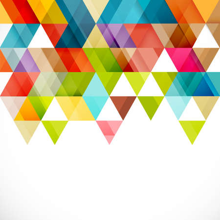 Abstract colorful geometric modern template for business or technology presentation, vector illustration