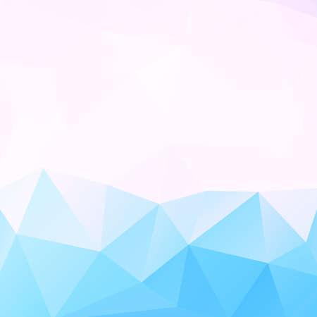 poligonos: Bajo azul geométrico de fondo azul y espacio para el texto, ilustración vectorial