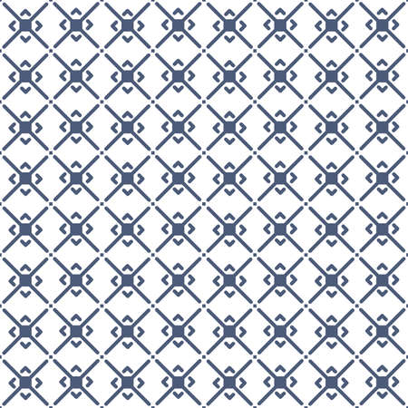 Vector seamless pattern and modern stylish texture with repeating Thai pattern style.  Иллюстрация