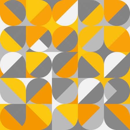 Abstract  trendy geometric background. Minimal colorful pattern geometric design. vector illustration. Иллюстрация