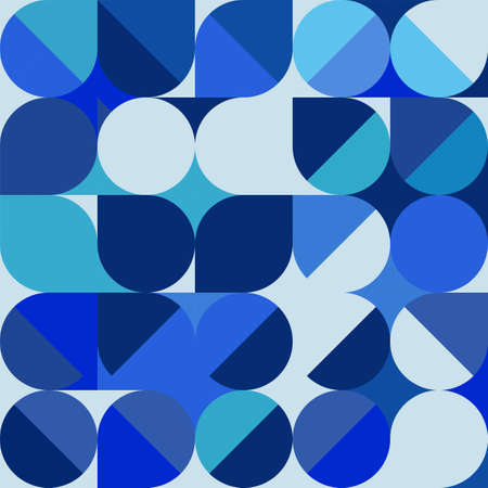 Abstract trendy geometric background with repeating grid pattern. Minimal blue pattern geometric design. vector illustration.