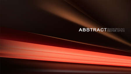 Abstract trendy and technology concept with light movement on dark