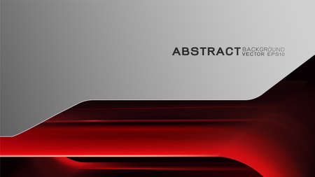 Abstract trendy and technology concept with light line movement and copy space Иллюстрация