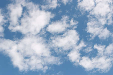feathery: feathery clouds