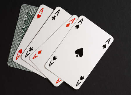four of a kind: Four of kind poker combination Editorial