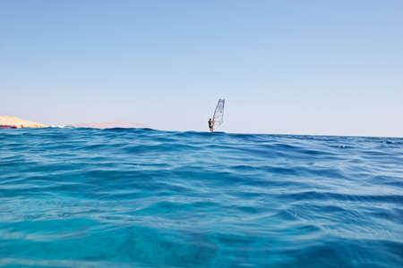Waves background - surfing on red sea Zdjęcie Seryjne