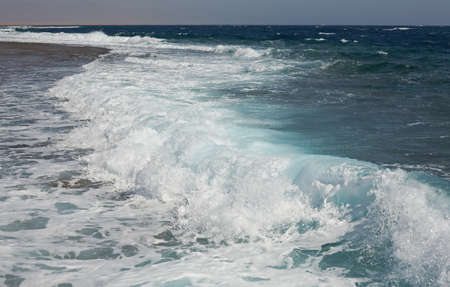 Big wave in Red Sea. Red Sea. Egypt.