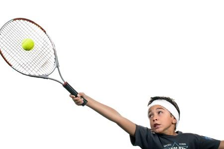 child tennis photo