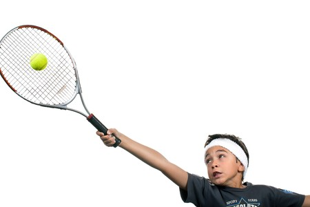 child tennis Stock Photo - 7960934