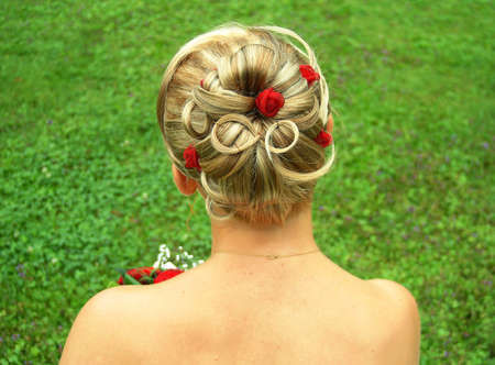 bridal salon: Bridal hair style
