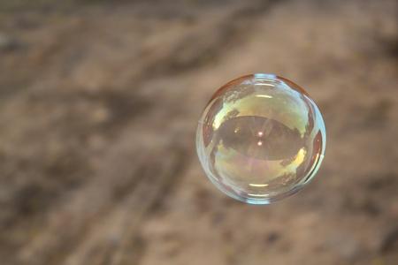 Seifenblasen Standard-Bild