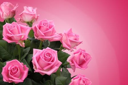 bouquet fleur: Bouquet de roses Banque d'images