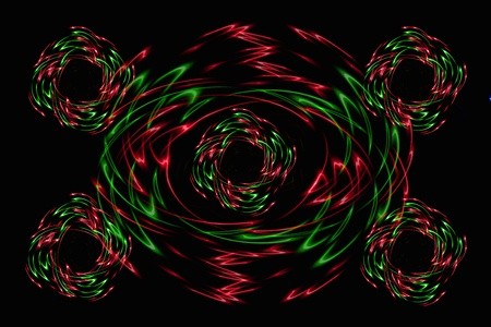 shone: Abstract background - shone lines Stock Photo