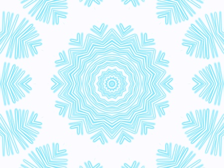 incorporate: Snowflake. Abstract background