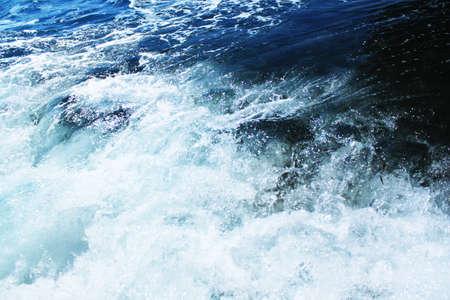 Raging water photo