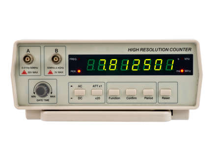 hertz: Frequency counter for use in a laboratory