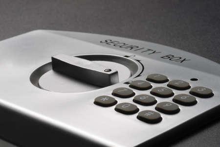 teclado num�rico: teclado num�rico de un port�til seguro