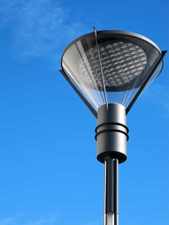 street lantern with a modern design photo