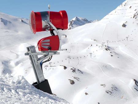 a machine to make artificial snow Stock Photo - 12597518