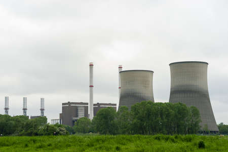A power plant for the production of electricity photo