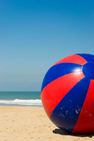 a toy beach ball with a dia of 10 feet 3 meters