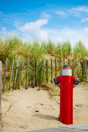 fire hydrant in the dunes Stock Photo - 14417117