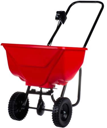 spreader for fertilizer, seed and roadsalt
