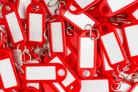 plastic key tags Stock Photo - 16847712