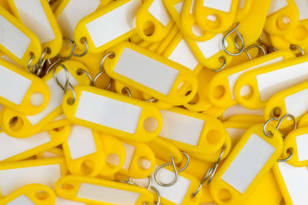 plastic key tags Stock Photo - 16847713