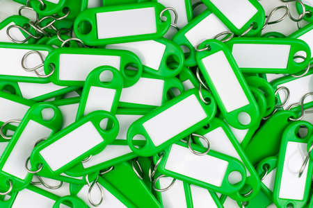 green colored key rings Stock Photo - 16847724