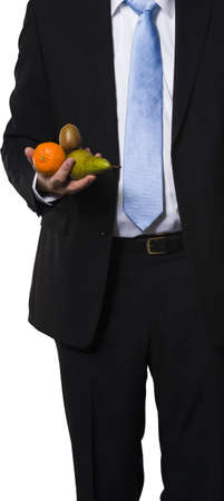 Found fruit as a metaphor for easy deals, orders and contracts Stock Photo - 16928135