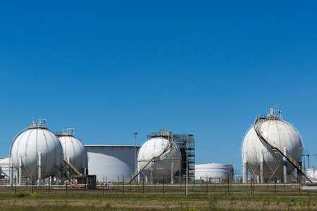 Olie terminal voor de opslag en productie van olie en petrochemische producten